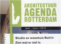 Architectuuragenda Rotterdam mei / juni 2010
